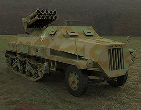 Panzerwerfer 42 3D model