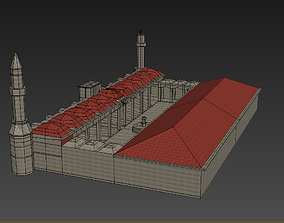 3d mosque game-ready