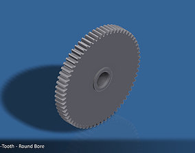 3D printable model 64-Tooth Spur Gear 03