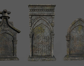 Bloodborne Tombstones 3D model