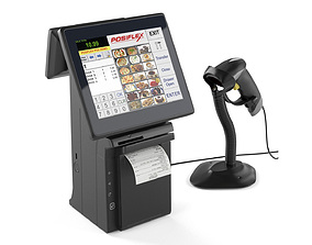 3D All-in-one POS terminal Posiflex HS2310