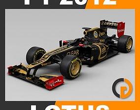 F1 2012 Lotus E20 3D model