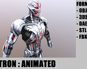 Ultron 3D model animated game-ready