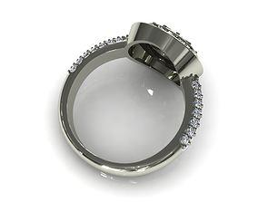 3D print model Diamond Ring M001