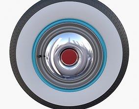 3D model Generic 40s Car Wheel