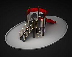 toy Outdoor Castle WD124 3D model