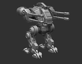 3D print model Battle robot of the future