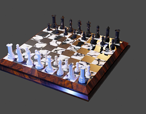 Chess complete Set 3D model