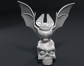 Sculpture of a funny vampire 3D printable model