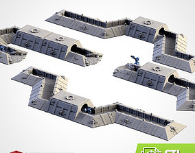 3D print model TRENCHES