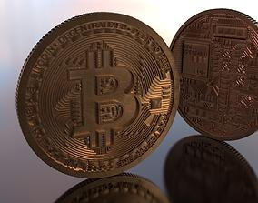 Bitcoin Highpoly 3D