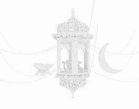 Fanoos Ramadan with 3 Accessories 3D model