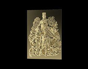 3D print model arch Triumphal Arch bas-relief