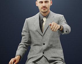 3D model Peter An Elegant Business Man Driving A Car