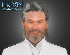 3D TRON Kevin Flynn
