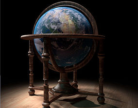 3D model geography World Globe
