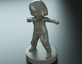 3D print model Ferrari Funko Pilot
