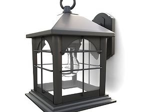 Outdoor wall lantern 11 3D