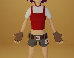 3D model anime female