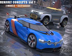 Renault concept vol 1 3D model
