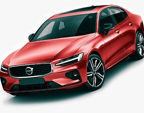 premium 3D model Volvo R-Design S60 2019