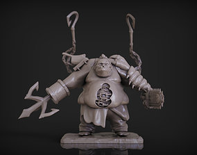Pudge - Dota 2 3D print model high