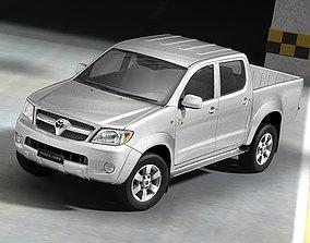 3D Toyota Hilux
