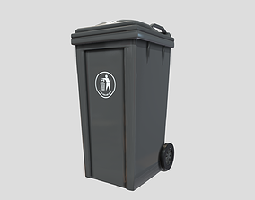 3D asset game-ready Recycle bin