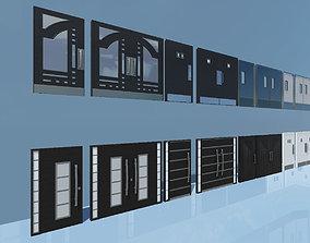 3D model PBR Doors