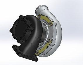 3D Garrett gt 30 and 35 turbo
