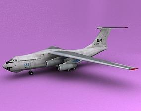 3D model il-76 UN