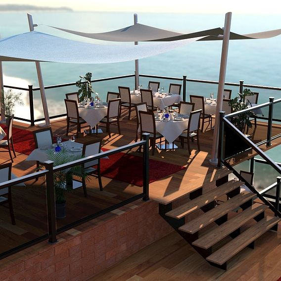 Exterior Design Restaurant