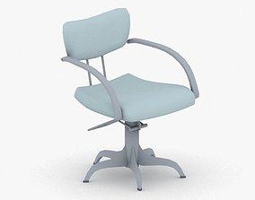 0893 - Hairdresser Chair 3D asset