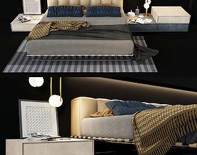 BED KRISTALL i4mariani SLICK NACCHERA 3D model