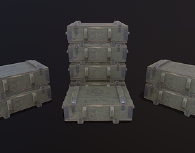Military crate 3D asset realtime