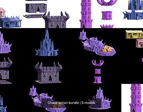 3D model Chaos terrian bundle