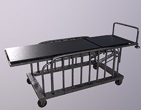 Stretcher Game Ready Low Poly 3D Model low-poly