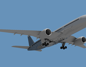 3D asset Airbus A350 - 900 XWB