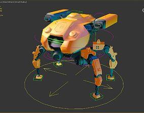 SPIDER MECHA 3D model