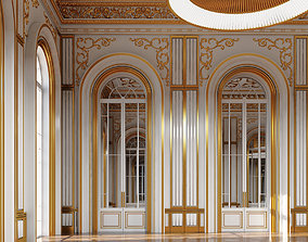 3D model Classic Interior Scene 335