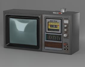 Retro Multi TV 3D PBR