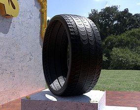 ORTAS TIRE NO 35 GAME READY AND 3D PRINTABLE