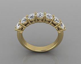 luxury 3D print model Ring 42