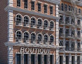 3D Commercial Building Generator Houdini