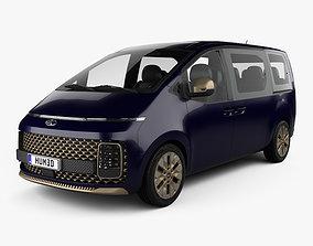 Hyundai Staria Premium 2021 3D model
