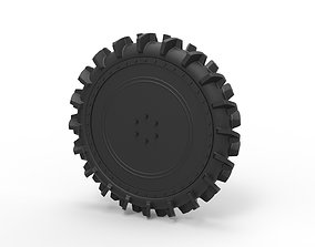 Diecast Wheel from swamp buggy 3D print model