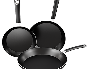 equipment Frying pan 3D