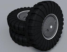 3D Wheels on BTR 80