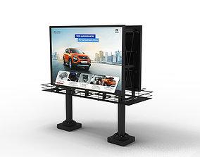 Billboard exterior 3D model