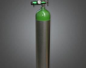 3D model HPL - Medical Cylinder PBR Game Ready